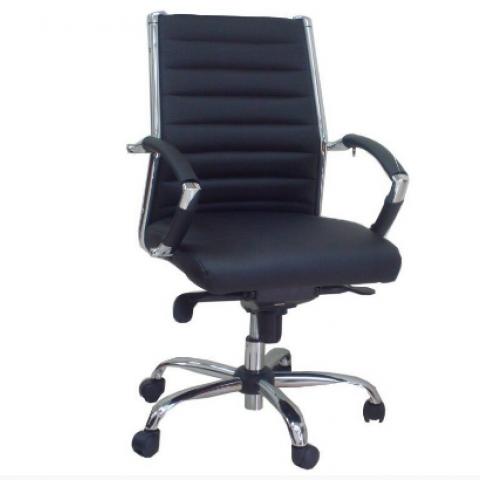 כסא מנהל שי גב בינוני מנגנון סינכרוני