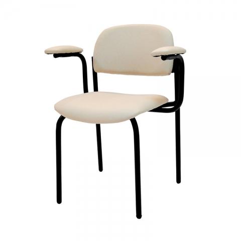 כיסא רקפת עם ידיות