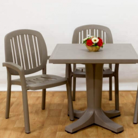 סט גינה שולחן + 2 כסאות תוצרת איטליה