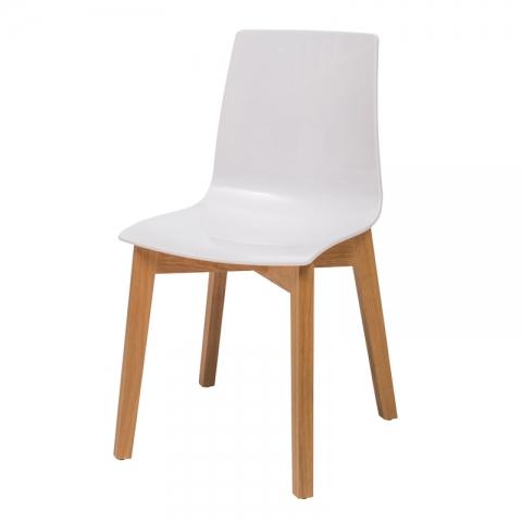 כיסא דגם סיון רגל עץ אלון (בוק)