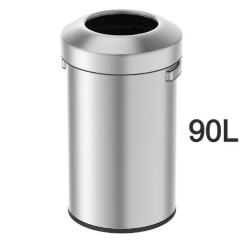פח נירוסטה אורבן 90 ליטר מבית H.KLIEN דגם 6338