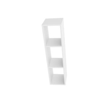 ספריה מחולקת לתליה על קיר בזויות שונות דגם R13 מבית H.KLEIN