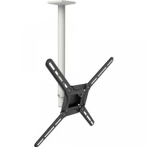 דגם 3500 זרוע לתקרה למסך שטוח/ קעור 3 תנועות: עד 65