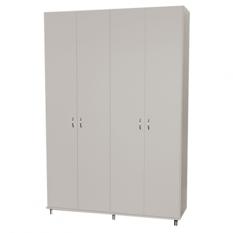 ארון דגם אורן 4 דלתות גובה 240 ס