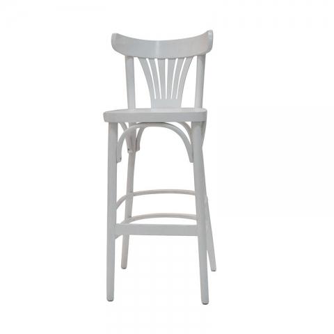 כיסא בר דגם מניפה ללא ידיות