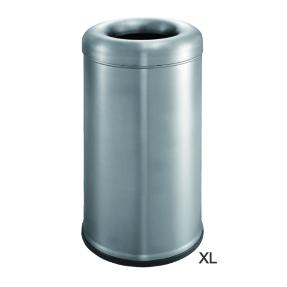 פח אשפה עגול איכות פתוח גדול מבית H.KLIEN דגם 6340