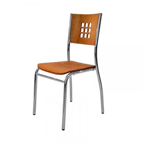 כסא דגם ורונה וגב עץ