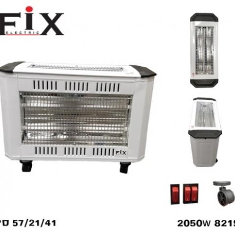 תנור חימום אינפרא 2+2 Fix