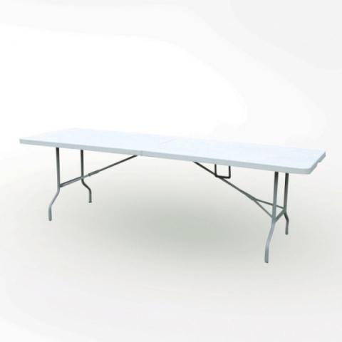 שולחן מזוודה מתקפל 180/76 ס