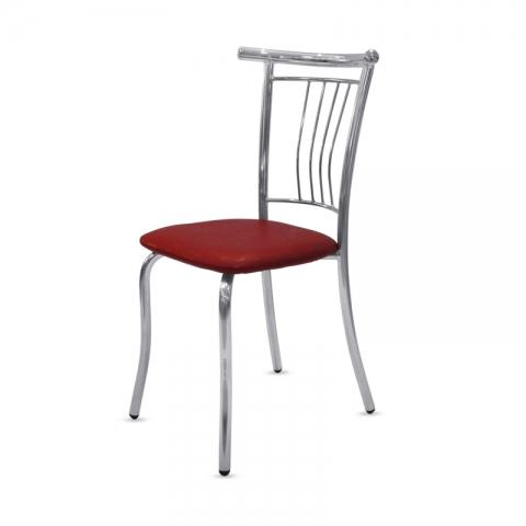 כסא דגם קינג מרופד ראש עץ או מתכת