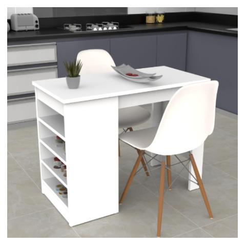 שולחן  בר לבית דגם H-6 מבית H.KLEIN  - קיים כרגע רק לבן