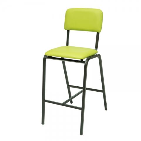כיסא בר דגם שרתון מרופד