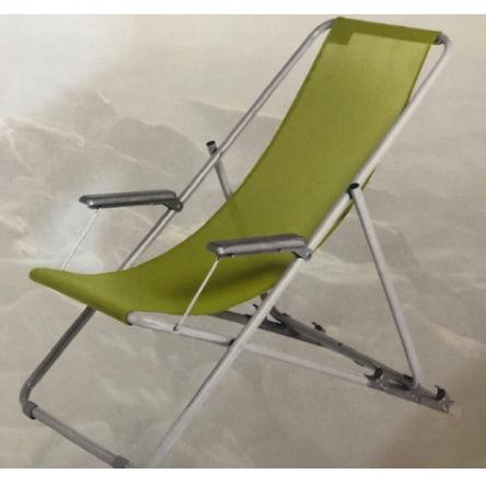 כיסא נוח מתקפל בלי ידיות