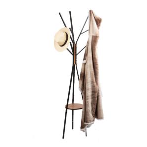 קולב בגדים מפואר מתכת בשילוב עץ מבית H.KLEIN
