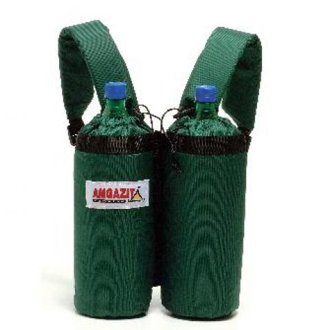 מנשא גב לשני בקבוקים 1.5 ליטר. שומר חום. אידיאלי למטיילים.