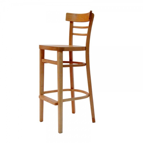 כיסא בר דגם סבתא מושב עץ