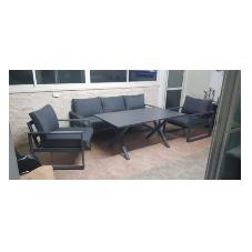 מערכת ישיבה תלת מושבי דגם מקסים מבית H.KLEIN