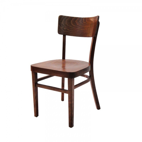 כיסא מעיין מושב עץ בלבד