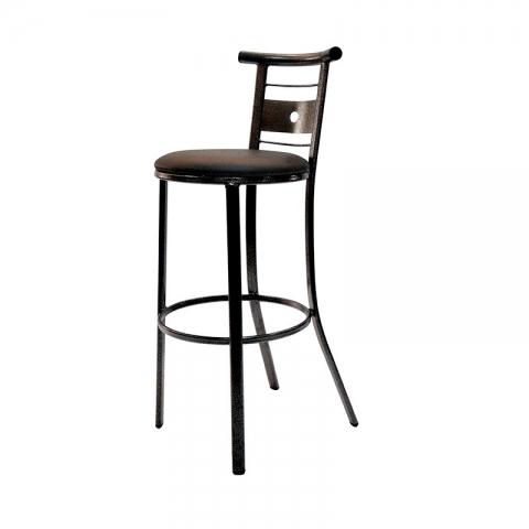 כסא בר דגם סולם מרופד