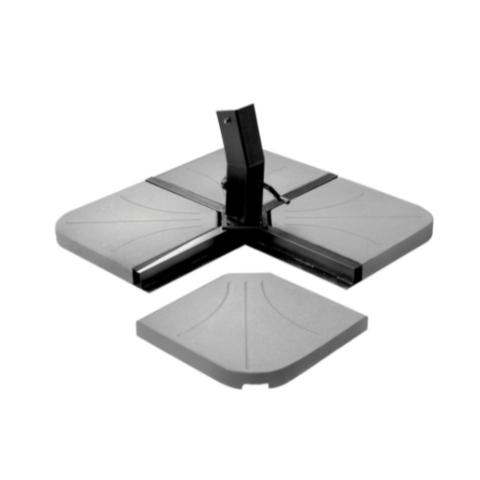שמשייה רגל צד מרובעת איכותית 2.5X2.5 ס