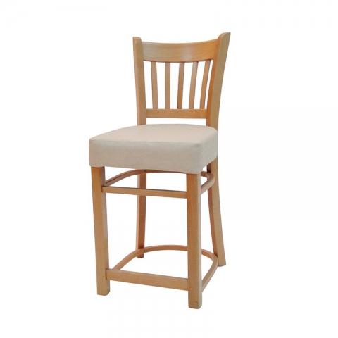 כיסא בר דגם ארז מרופד