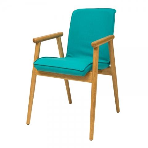 כיסא פיבי מושב מרופד