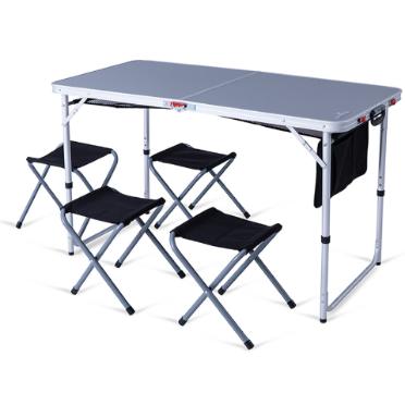שולחן מתקפל דגם Q4 כולל שרפרפים