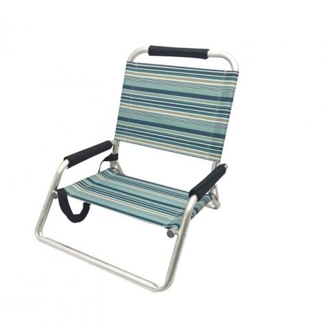 כיסא אלומניום מתקפל נמוך