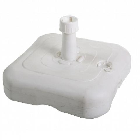 בסיס לשמשיה מפלסטיק למילוי מים או חול