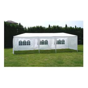 גזיבו אוהל לגינה 3X9 מטר ענק בשילוב וילונות דגם מארק מבית H.KLEIN