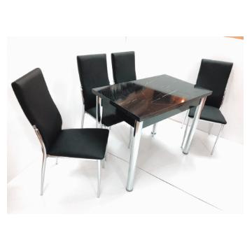 סט שולחן וכסאות לפינת אוכל דגם אריאל מבית H.KLEIN