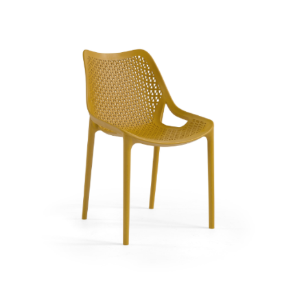 זוג כיסאות פלסטיק דגם עלית מגוון צבעים מבית H.KLEIN