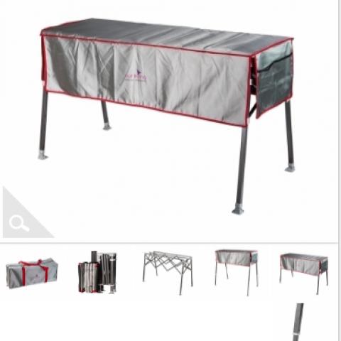 שולחן מתקפל רב שימושי - חסר במלאי