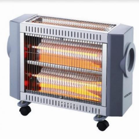 תנור חימום אינפרא 3 גופים 2400W