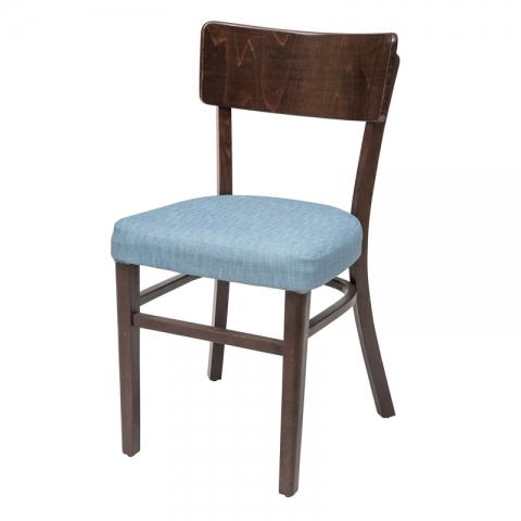 כיסא מעיין מושב מרופד