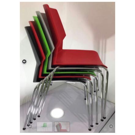 כסא דגם מילאנו כחול / אדום ירוק / אפור / שחור