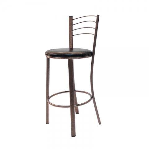 כסא בר דגם באלי מרופד