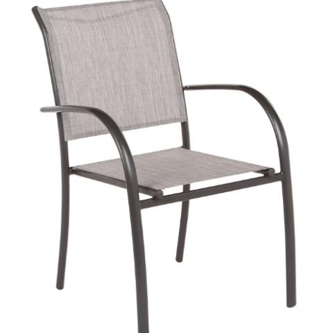 כיסא אלומיניום דגם רוזה סילבר או פחם