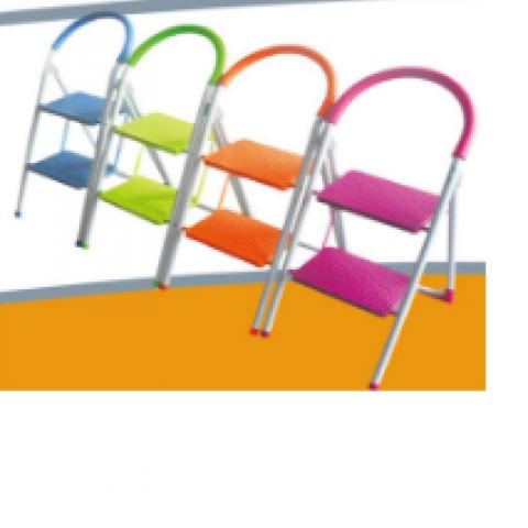 סולם כיסא מתכת 2 קומות סוזוקי