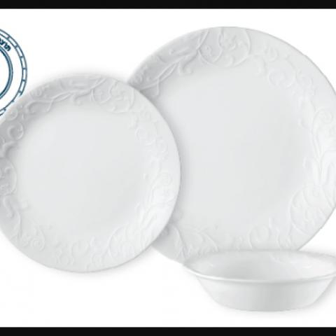סט 18 צלחות קורנינג CORELLE® - Bella Faenza ניתן לרכוש בתפזורת