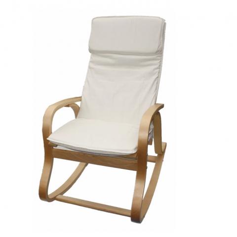 כיסא נדנדה. ניתן לרכוש גם הדום תואם