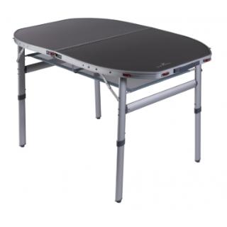 שולחן אלומניום  שולחן פתוח: 120 ס