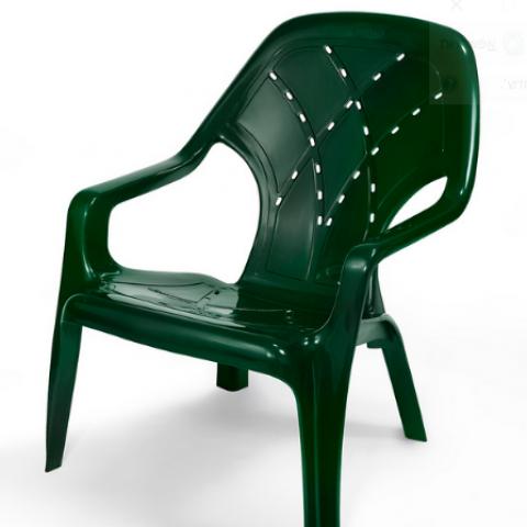 כסא בריכה ומנוחה דגם קרן תוצרת כתר פלסטיק