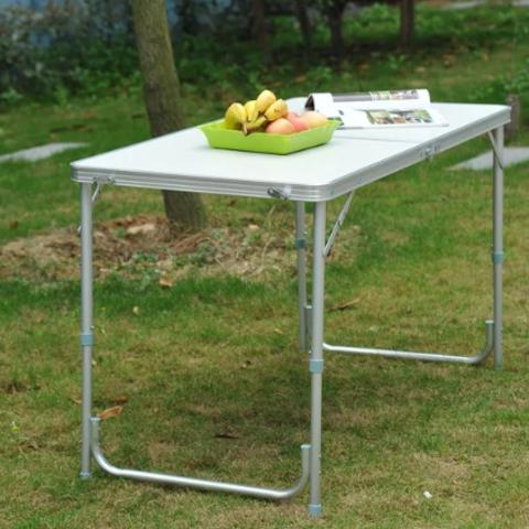 שולחן מתקפל מאלומניום 120/60 ס