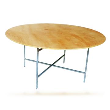 שולחן ארועים קייטרינג 160 קוטר - חסר זמנית