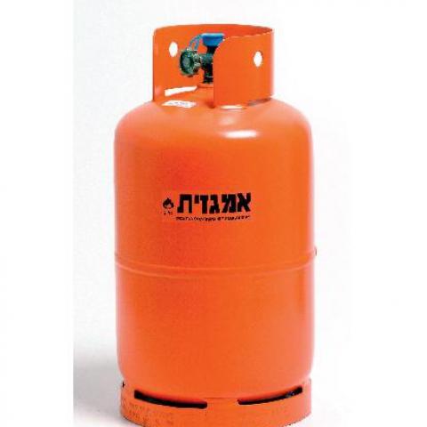 מיכל גז 5 קג כולל גז תוצרת אמגזית