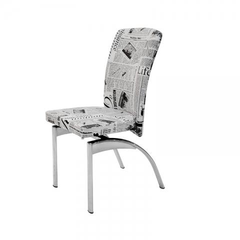 כסא סביון 009 ציפוי ניקל בלבד