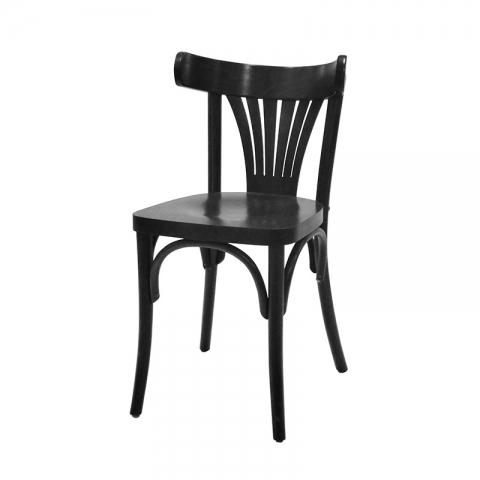 כיסא מניפה מושב עץ בלבד