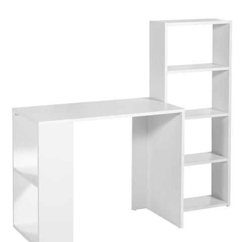 שולחן מחשב כולל מדפים דגם 2614 - חסר זמנית