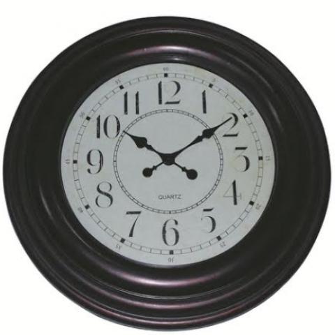 שעון קיר ליון ברונזה עתיק 60 ס